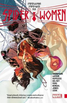 Spider-Women av Dennis Hopeless, Jason Latour og Robbie Thompson (Heftet)
