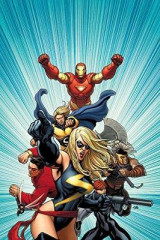 Omslag - Mighty Avengers by Brian Michael Bendis - the Complete Collection