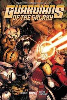 Guardians Of The Galaxy Vol. 4 av Brian Michael Bendis (Innbundet)