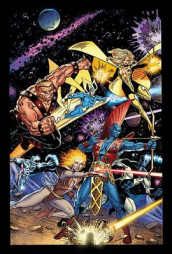 Guardians Of The Galaxy Classic By Jim Valentino Omnibus av Tom DeFalco, Al Milgrom og Jim Valentino (Innbundet)