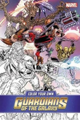 Omslag - Color Your Own Guardians of the Galaxy
