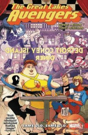 Great Lakes Avengers: Same Old, Same Old av Zac Gorman (Heftet)