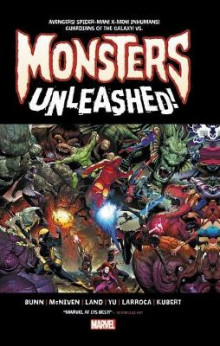 Monsters Unleashed: Monster-size av Cullen Bunn (Innbundet)