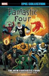 Fantastic Four Epic Collection: The New Fantastic Four av Danny Fingeroth, Len Kaminski og Walt Simonson (Heftet)