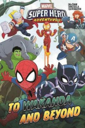 Marvel Super Hero Adventures: To Wakanda And Beyond av Jim McCann (Innbundet)