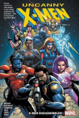 Omslag - Uncanny X-men Vol. 1: X-men Disassembled