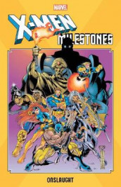 X-men Milestones: Onslaught av Larry Hama, Scott Lobdell og Mark Waid (Heftet)
