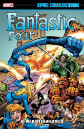 Fantastic Four Epic Collection: At War With Atlantis av Stan Lee (Heftet)
