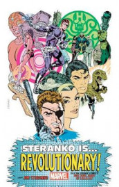 Steranko Is... Revolutionary King-size av Stan Lee, Jim Steranko og Roy Thomas (Innbundet)