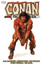 Conan The Barbarian: The Original Marvel Years Omnibus Vol. 5 av J.M. DeMatteis og Len Wein (Innbundet)
