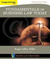 Cengage Advantage Books: Fundamentals of Business Law Today: Summarized Cases av Roger Miller (Heftet)