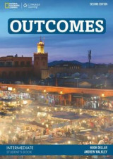 Omslag - Outcomes (2nd ed) - Intermediate - Student's Book with Access Code and Class DVD