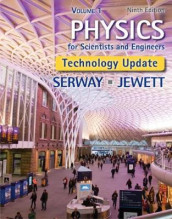 Physics for Scientists and Engineers, Volume 1, Technology Update av John Jewett og Raymond Serway (Innbundet)
