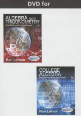 Omslag - DVD for Larson's Algebra and Trigonometry: Real Mathematics, Real People, 7th
