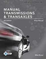 Omslag - Today's Technician: Manual Transmissions & Transaxles Shop Manual