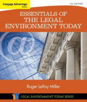 Cengage Advantage Books: Essentials of the Legal Environment Today av Roger Miller (Heftet)