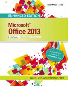 Enhanced Microsoft (R)Office 2013 av David Beskeen, Lisa Friedrichsen, Carol Cram, David Beskeen og Jennifer Duffy (Spiral)