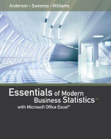 Omslag - Essentials of Modern Business Statistics with Microsoft Excel