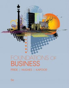 Foundations of Business av Robert Hughes, Jack R. Kapoor og William M. Pride (Heftet)