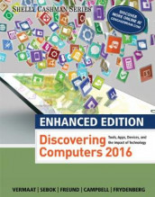 Enhanced Discovering Computers (c)2017 av Jennifer Campbell, Steven Freund, Mark Frydenberg, Susan Sebok og Misty Vermaat (Heftet)