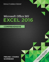 Omslag - Shelly Cashman Series Microsoft Office 365 & Excel 2016