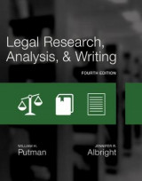 Omslag - Legal Research, Analysis, and Writing
