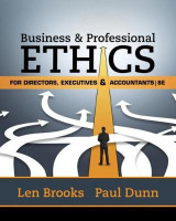 Omslag - Business & Professional Ethics for Directors, Executives & Accountants