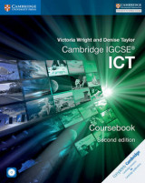 Omslag - Cambridge IGCSE ICT Coursebook with CD-ROM