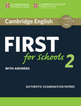 Omslag - Cambridge English First for Schools 2 Student's Book with Answers: 2
