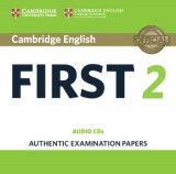Omslag - Cambridge English First 2 Audio CDs (2)