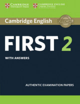 Omslag - Cambridge English First 2 Student's Book with Answers