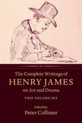 Omslag - The Complete Writings of Henry James on Art and Drama 2 Volume Hardback Set
