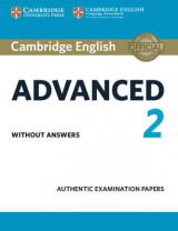Omslag - Cambridge English Advanced 2 Student's Book Without Answers