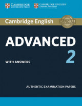 Omslag - Cambridge English Advanced 2 Student's Book with Answers