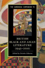 Omslag - The Cambridge Companion to British Black and Asian Literature (1945-2010)