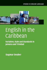 Omslag - English in the Caribbean