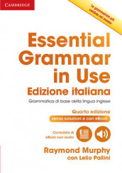 Essential Grammar in Use Book without Answers with Interactive eBook Italian Edition av Raymond Murphy og Lelio Pallini (Blandet mediaprodukt)