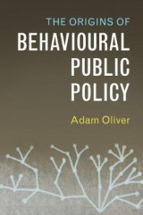 Omslag - The Origins of Behavioural Public Policy