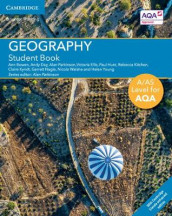 A/AS Level Geography for AQA Student Book with Cambridge Elevate Enhanced Edition (2 Years) av Ann Bowen, Andy Day, Victoria Ellis, Paul Hunt, Rebecca Kitchen, Claire Kyndt, Garrett Nagle, Alan Parkinson, Nicola Walshe og Helen Young (Blandet mediaprodukt)