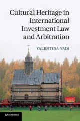 Omslag - Cultural Heritage in International Investment Law and Arbitration