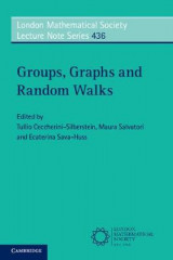 Omslag - Groups, Graphs and Random Walks