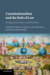 Omslag - Constitutionalism and the Rule of Law
