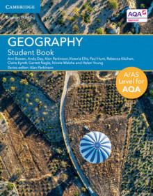 A/AS Level Geography for AQA Student Book av Ann Bowen, Andy Day, Victoria Ellis, Paul Hunt, Rebecca Kitchen, Claire Kyndt, Alan Parkinson, Garrett Nagle, Nicola Walshe og Helen Young (Heftet)