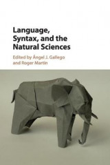 Omslag - Language, Syntax, and the Natural Sciences