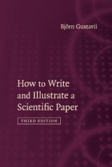 Omslag - How to Write and Illustrate a Scientific Paper