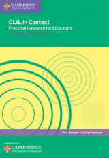Omslag - CLIL in Context Practical Guidance for Educators