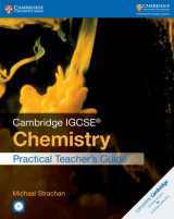Omslag - Cambridge IGCSE Chemistry Practical Teacher's Guide with CD-ROM