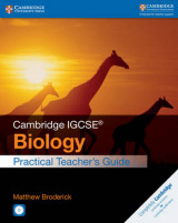 Omslag - Cambridge IGCSE Biology Practical Teacher's Guide with CD-ROM