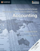 Omslag - Cambridge International AS and A Level Accounting Coursebook