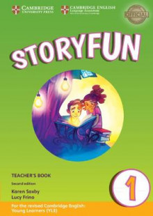 Storyfun for Starters Level 1 Teacher's Book with Audio av Karen Saxby og Lucy Frino (Blandet mediaprodukt)